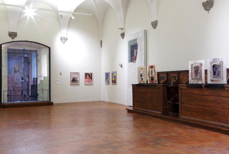 LA SINDONE E L'IMPRONTA DELL'ARTE  Museo Civico di Sansepolcro / 2015