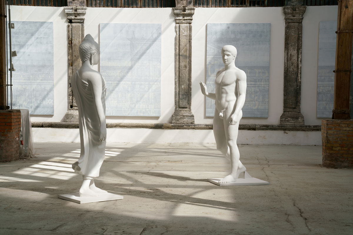 NATEE UTARIT / DEJA VU / Fondazione Made in Cloister / Napoli 2019