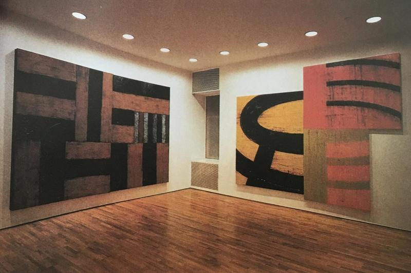 La Metafisica della Luce / John Good Galley / New York 1993 / Sean Scully / Gerhard Richter...